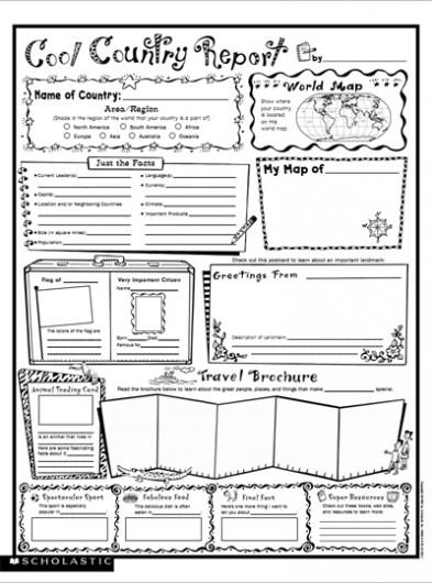 Book Report Worksheet